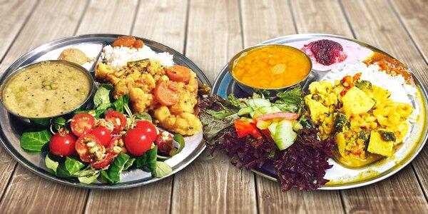 4chodové vegetariánské menu All You Can Eat