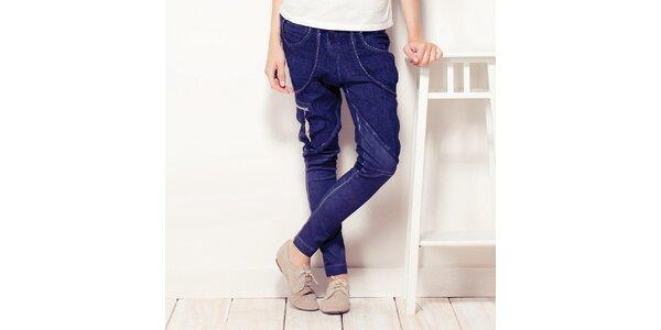 Dámské indigové kalhoty Angels Never Die