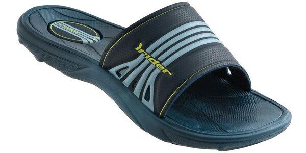 Dětské tmavě modré plážové pantofle Rider