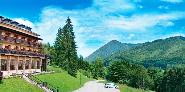Rakouské Alpy s polopenzí i vstupem do bazénu