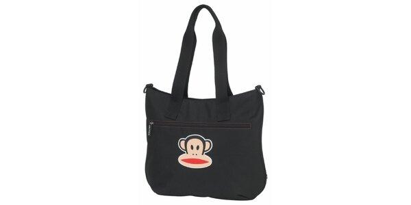 Dámská černá taška přes rameno Paul Frank