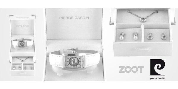 Elegantní set hodinek a šperků Pierre Cardin