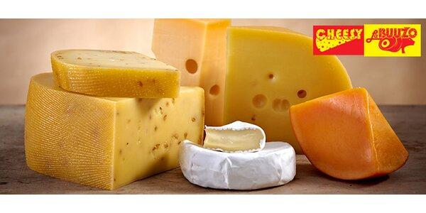 Sleva 30 % na veškeré sýry v podniku Cheesy la Buužo