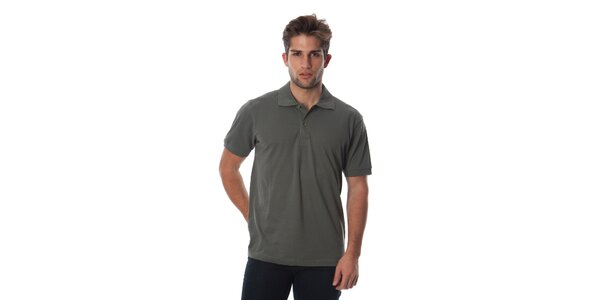 Set tří pánských polo triček v modré, zelené a khaki Cristian Lay