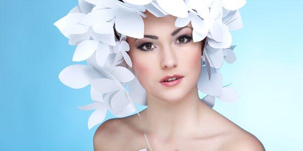 90minutové liftingové kosmetické ošetření