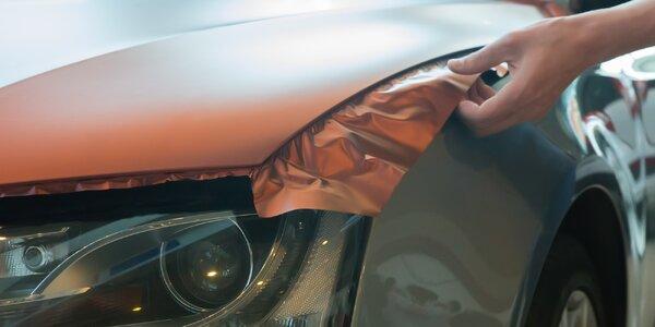 Ochrana a změna vzhledu vozidla potažením fólií