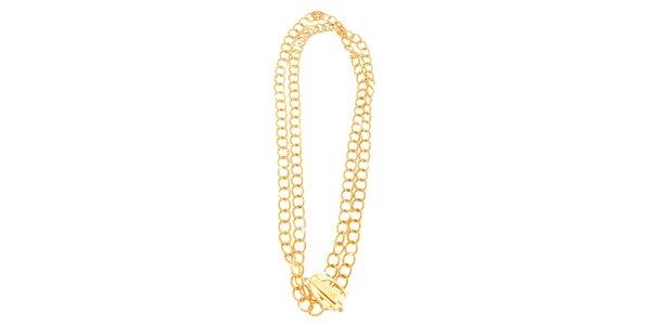 Dámský zlacený náhrdelník Just Cavalli