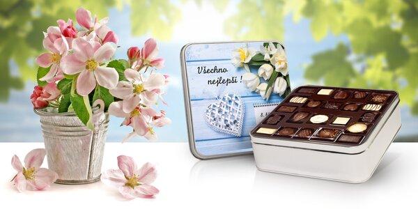 Dárkové čokoládové sady k MDŽ