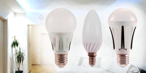 Úsporné LED žárovky s pětiletou zárukou