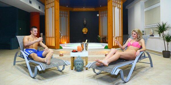 3 hodiny ve wellness se saunami a vířivkou