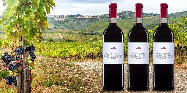 Toskánské víno Chianti Classico 2012