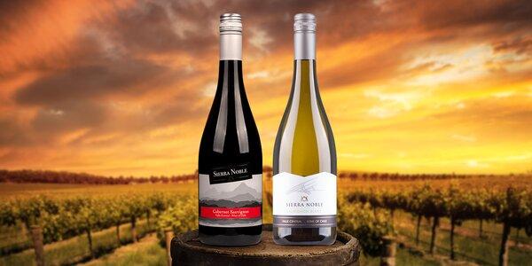 Znamenitá vína z Chile - 3 bílá a 3 červená