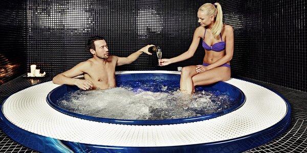 Privátní whirlpool a relax v Saunovém světě