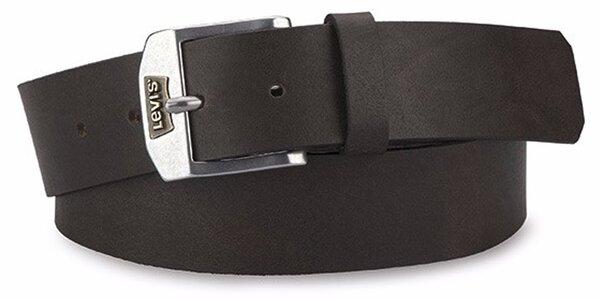 Pánský pásek Levi's - AB219406 Tmavě hnědý