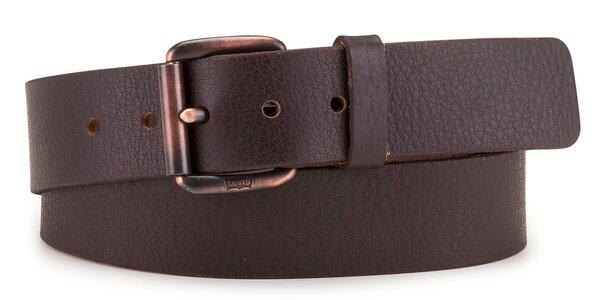 Pánský pásek Levi's - AB222423 Tmavě hnědý