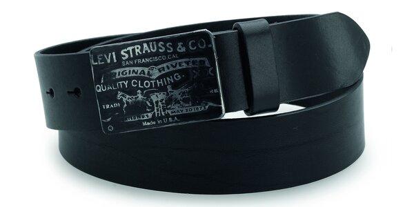 Pánský pásek Levi's - AB216569 Černý