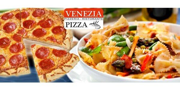 Jen 139 Kč za pizzu + těstoviny dle výběru v Jihlavě!