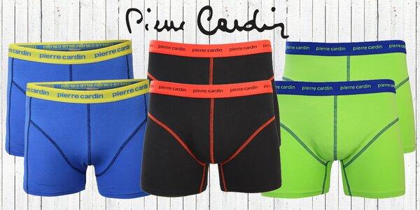 2ks boxerek Pierre Cardin ve stylových barvách