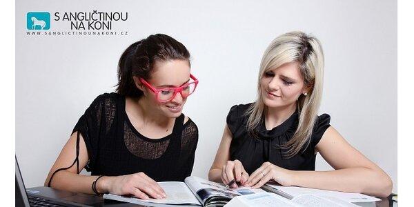 Letní intenzivní pobytové kurzy angličtiny - S ANGLIČTINOU NA KONI