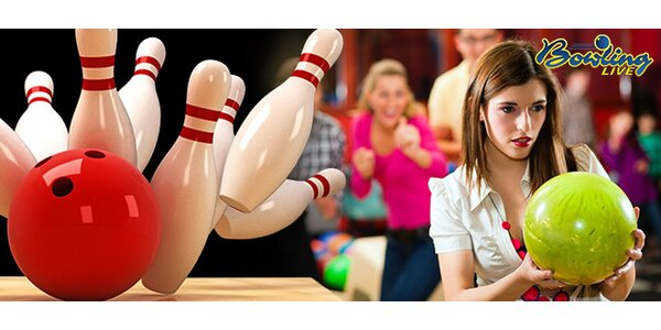 Zahrajte si bowling v partě až 8 přátel