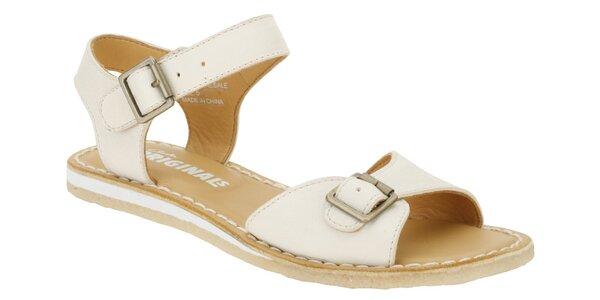 Dámské bílé sandále Clarks
