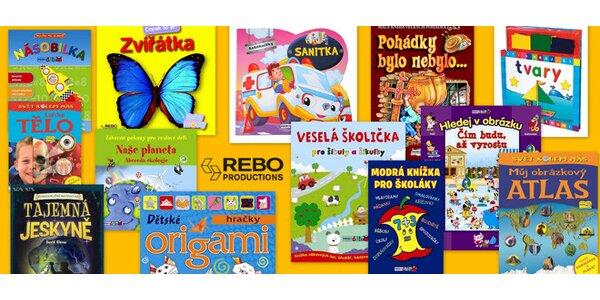Hravé knížky pro nejmenší, předškoláky i školáky