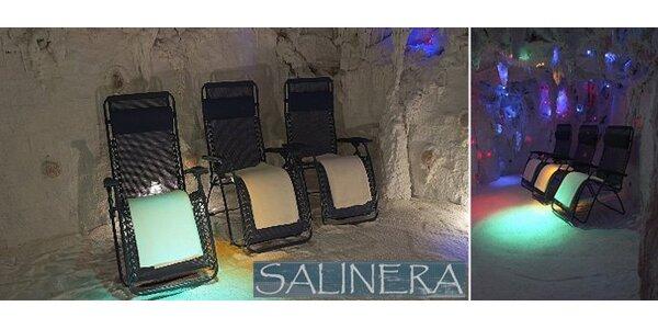 59 Kč za blahodárnou návštěvu solné jeskyně na Vysočině.