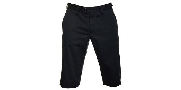 Pánské černé šortky Pietro Filipi