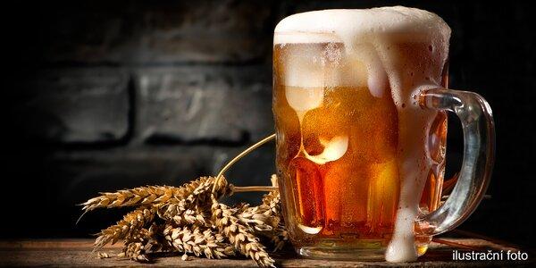 Půllitr točeného piva Radegast 12°