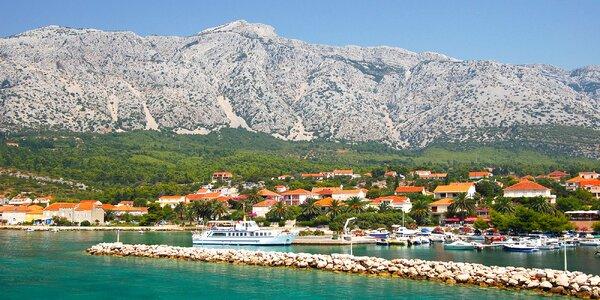 8 dní u moře: soukromé apartmány v Chorvatsku