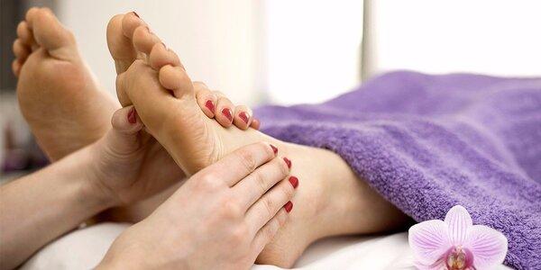 80 minut relaxační péče o chodidla