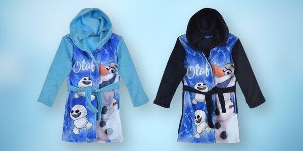 Dětské župany se sněhulákem Olafem