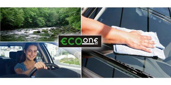 299 Kč za ruční mytí automobilu včetně interiéru v EcoOne Liberec