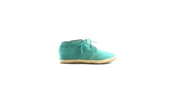 Dámské zelené semišové tenisky Shoes in the City