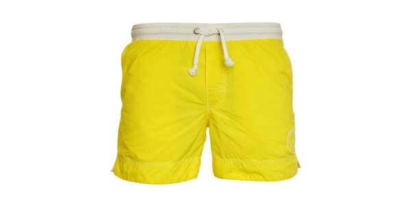 Pánské zářivě žluté koupací šortky Pietro Filipi