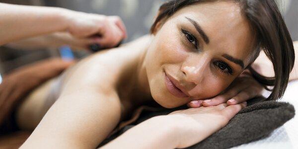 90minutová rozmazlující masáž pro ženy