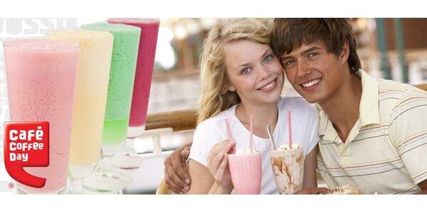 89 Kč za DVA lahodné zmrzlinové šejky dle výběru v Coffee Day Pardubice