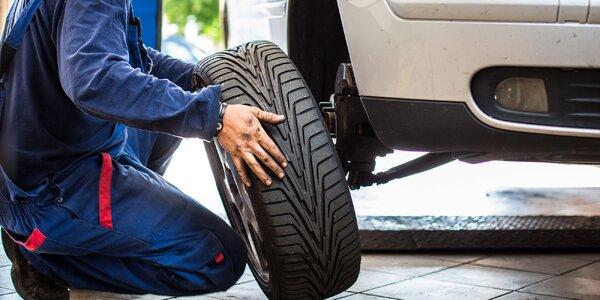 Přezutí pneumatik včetně vyvážení v Brně