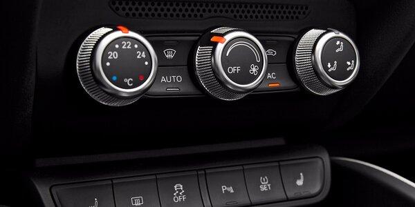 Kontrola, čištění a doplnění klimatizace vozu