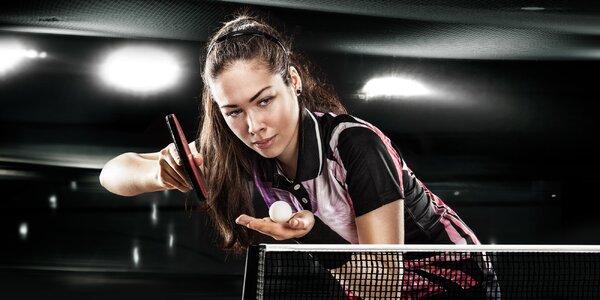 Ping pong pro veřejnost v profi prostředí