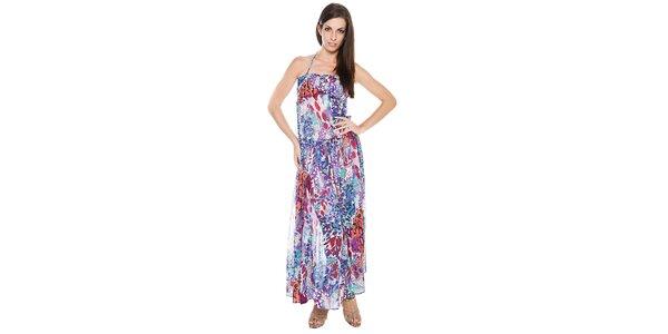 Dámské dlouhé pestrobarevné šaty Bacirubati