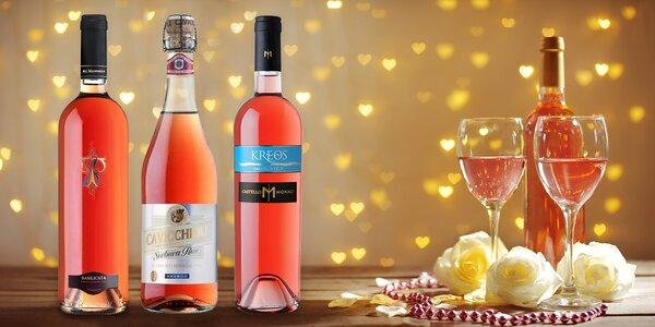 6 růžových vín ze slunné Itálie