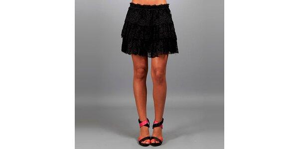 Dámská černá krajková sukně Des Si Belles