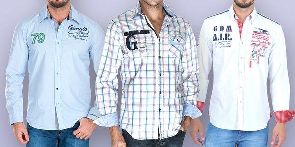 Pánské košile Giorgio Di Mare