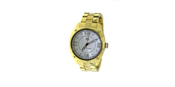 Dámské zlacené náramkové hodinky Tommy Hilfiger