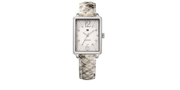 Dámské hadí náramkové hodinky Tommy Hilfiger
