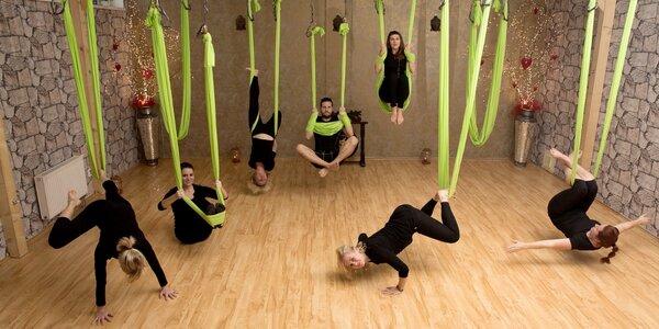 Povzneste tělo i mysl: lekce AntiGravity® fitness