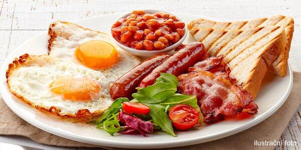 Snídaně dle výběru s kávou a vitamínovou bombou