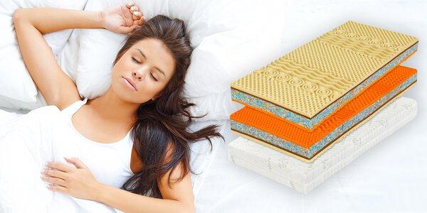 Tuhá matrace z kokosových vláken a pěny Flexifoam® pro náročné spáče