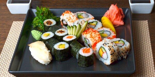 Japonské menu pro dva: předkrmy, sushi a dezert